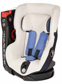 Stay cool with a Maxi-Cosi Axiss Summer Cover, sold separately
