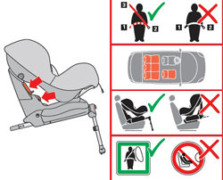 maxi cosi priorifix group 1 car seat black reflection. Black Bedroom Furniture Sets. Home Design Ideas