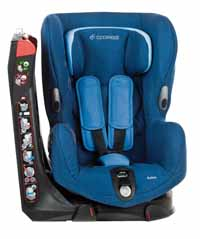 The Maxi-Cosi Axiss car seat can turn 90 degrees right or left