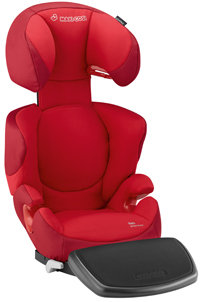 Add comfort to the ride with the Rodi Air Protect footrest sold separately