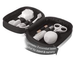 Health Care Kit contains nine essential items ideal for travel and nursery