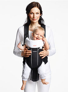 BabyBjorn Baby Carrier Miracle used forward-facing
