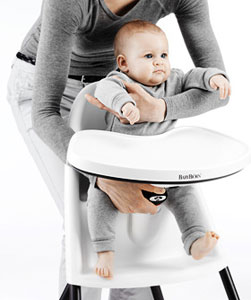 BabyBjorn Highchair White Baby