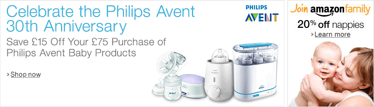 Philips Avent 30th Promo