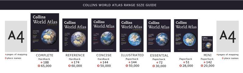 Collins Range of Atlases