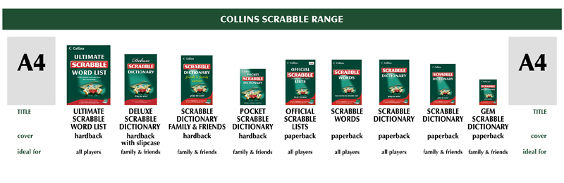 Collins Scrabble Range