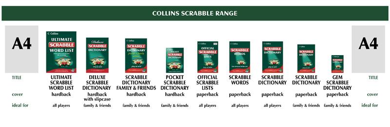 Collins Scrabble Range