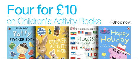 Four Kids Activity Books for �10