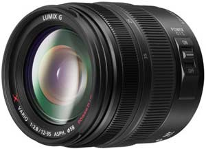 The award winning H-HS12035E high performance X lens