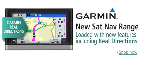 New Sat Navs from Garmin