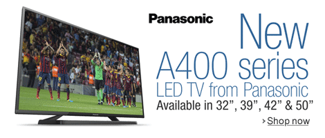 New A400 series LED TV from Panasonic