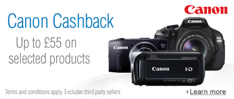 Canon Summer Cashback