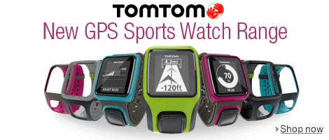 The GPS Sports Watch Range form TomTom