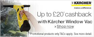 The Kärcher Window Vac Cashback Promotion