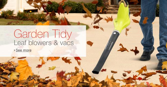 Leaf Blowers & Vacs