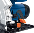 The base plate of the Draper 41811 circular saw can easily be adjusted
