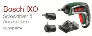 Bosch IXO Screwdriver Range