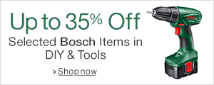 Up to 35% Off Selected Bosch Items