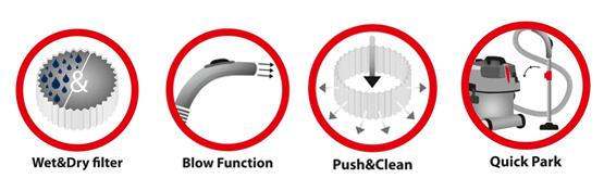 Vacuum Features