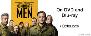 The Monuments Men--Order Now