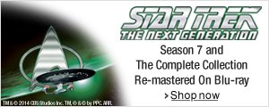 Star Trek: The Next Generation Season 7 and Complete Collection on Blu-ray--Shop Now