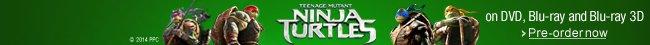 Teenage Mutant Ninja Turtles on DVD and Blu-ray--Pre-order now