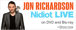 Jon Richardson - Nidiot Live--Order now
