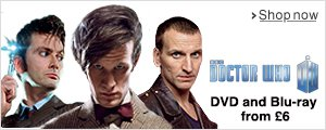 Doctor Who on DVD & Blu-ray from �6--Shop Now