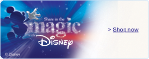 Disney--Share the Magic--Shop now