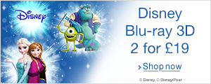 Buy two Disney Blu-ray 3D for £19