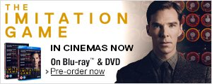 The Imitaion Game - In Cinemas Now - Pre-order on DVD and Blu-ray