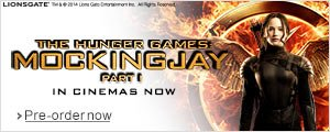 The Hunger Games: Mockingjay Part 1 - Pre-order Now