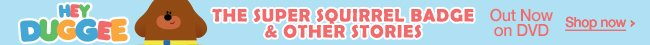 Hey Duggee - The Super Squirrel Badge & Other Stories - on DVD