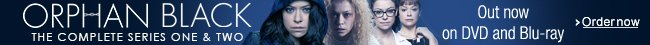 Orphan Black Series 1-2 on DVD and Blu-ray--Shop now