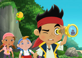 Disney Junior--Jake and the Never Land Pirates