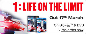 1: Life on the Limit on DVD and Blu-ray