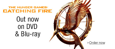 The Hunger Games: Catching Fire on DVD and Blu-ray--Order now