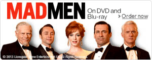 Mad Men on DVD and Blu-ray--Shop now