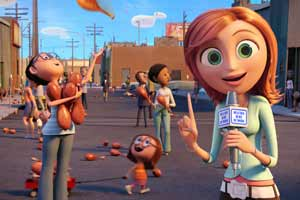 Still from Cloudy with a Chance of Meatballs