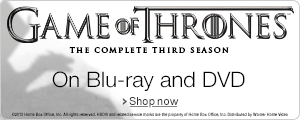 Game of Thrones - Season 3 on DVD and Blu-ray