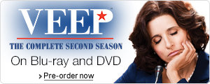 Veep Season 2 on DVD and Blu-ray