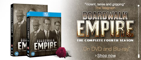 Boardwalk Empire - Season 4 on DVD and Blu-ray