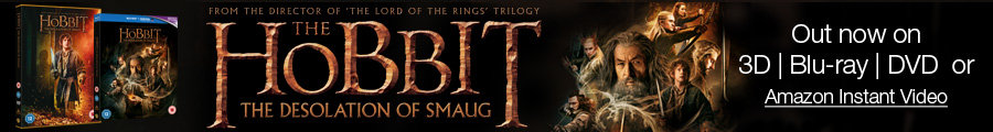 The Hobbit: The Desolation of Smaug--Out now on Blu-ray 3D, Blu-ray, DVD and Amazon Instant Video