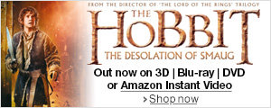 The Hobbit: Desolation of Smaug on DVD, Blu-ray, Blu-ray 3D and Amazon Instant Video--Shop now