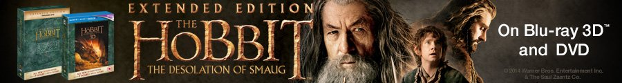 The Hobbit: The Desolation of Smaug Extended Edition--Shop now
