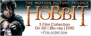 The Hobbit Trilogy on DVD, Blu-ray, Blu-ray 3D--Shop now