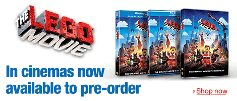 The Lego Movie--In cinemas now and available to pre-order--Shop now