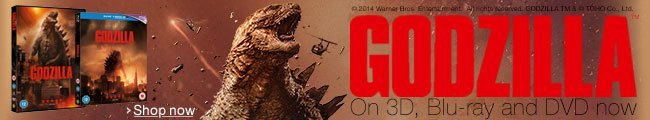 Godzilla on DVD, Blu-ray and Blu-ray 3D--Shop now