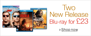 Two New Release Blu-ray for £23--Shop Now