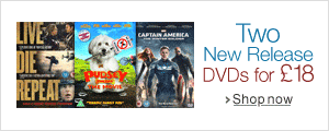 Two New Release Blu-ray for £18--Shop Now